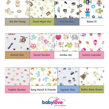 BABY LOVE Baby Organic Pillow Premium - Random Colour Design