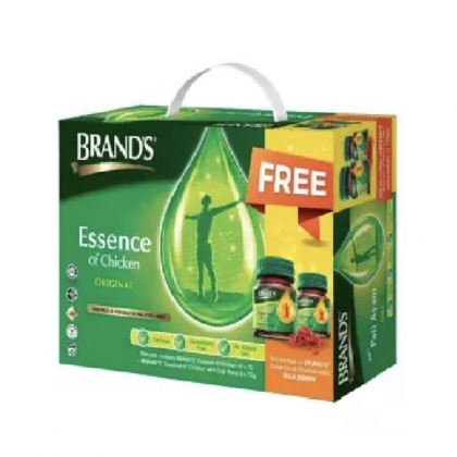 BRAND'S  ESSENCE OF CHICKEN 24 x 70g WITH FREE ESSENCE OF CHICKEN WITH CORDYCEPS 2 x 70g
