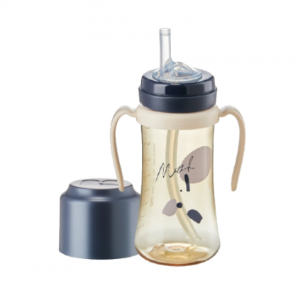 (NEW LAUNCHING) Mother-K  PPSU STRAW CUP 200ml